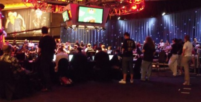 The ESPN final table area for Event 11 430x286